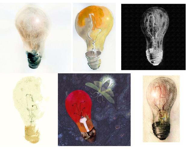 6 lightbulbs